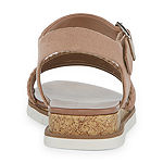 a.n.a Womens Uptown Wedge Sandals