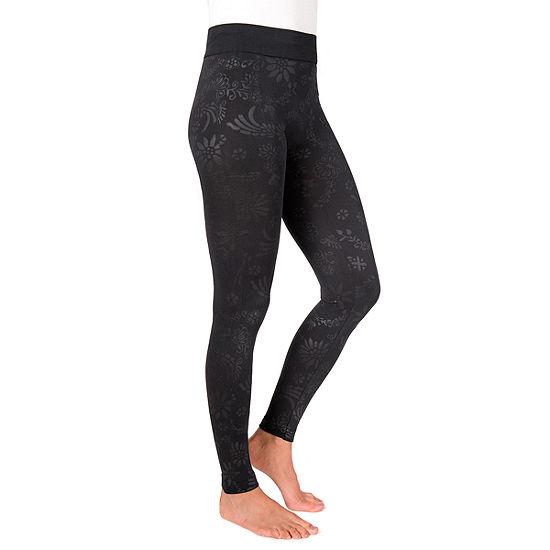 Muk Luks Embossed Womens Legging