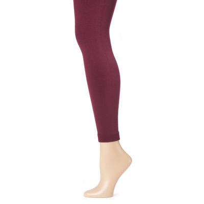 Muk Luks Fleece-Lined Womens High Waisted Legging