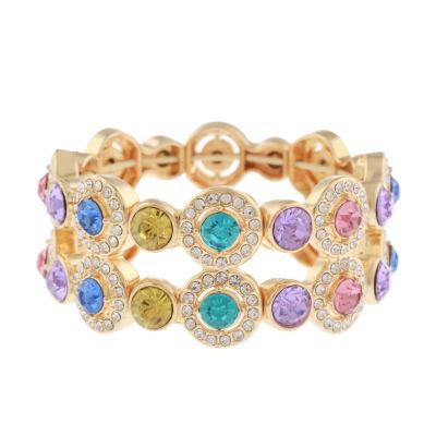 Monet Jewelry Multi Color Stretch Bracelet