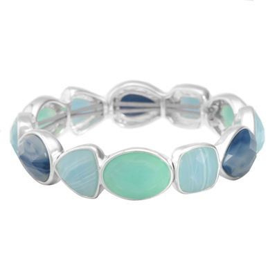 Liz Claiborne Blue Stretch Bracelet