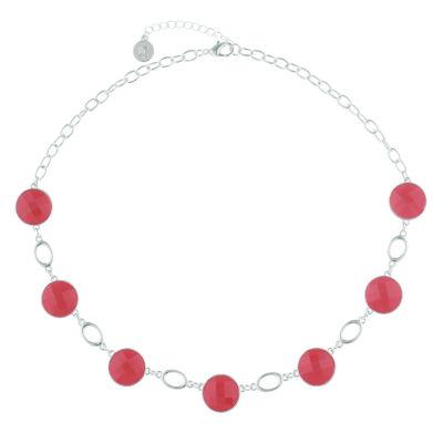 Liz Claiborne Womens Orange Collar Necklace