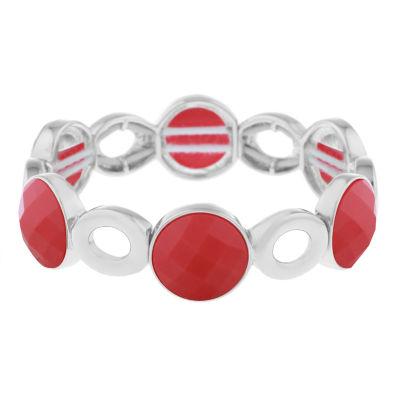 Liz Claiborne Orange Stretch Bracelet