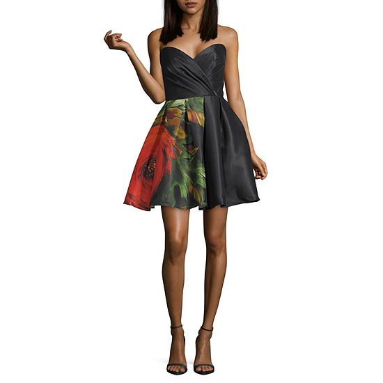 Glamour By Terani Couture Sleeveless Party Dress Juniors