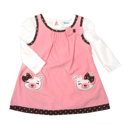 Nanette Baby Long Sleeve Jumper - Baby Girls