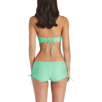 Arizona High Neck Swimsuit Top-Juniors