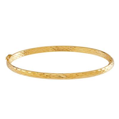 Made in Italy 10K Gold Bangle Bracelet