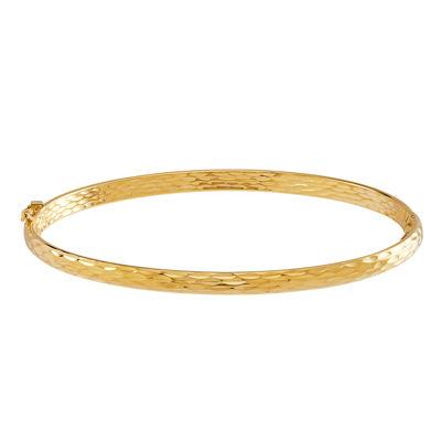 Made In Italy 10k Gold Bangle Bracelet Jcpenney
