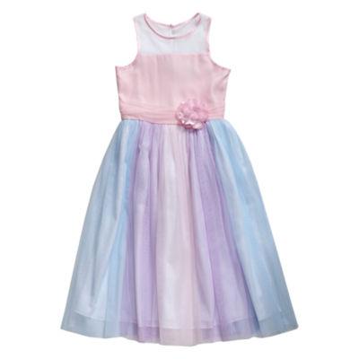 Emily West Not Applicable Sleeveless Maxi Dress Girls