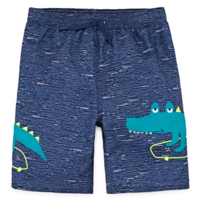 Okie Dokie Toddler Boys Swim Trunks