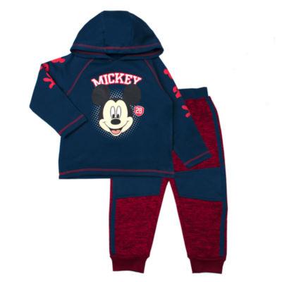 Disney Mickey Mouse 2-pc. Pant Set Toddler Boys