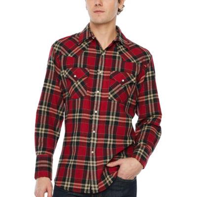Ely Cattleman Long Sleeve Western Shirt