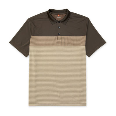 Van Heusen Short Sleeve Stripe Polo