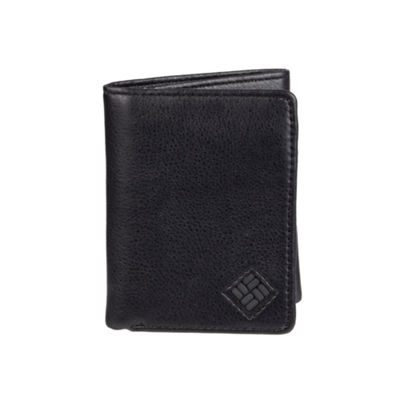 Columbia® Leather RFID Trifold Men's Wallet