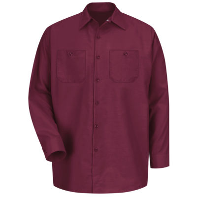 Red Kap® SP14 Industrial Solid Work Shirt–Big & Tall