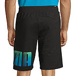 Puma Mens Elastic Waist Pull-On Short