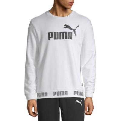 Puma Mens Crew Neck Long Sleeve Sweatshirt