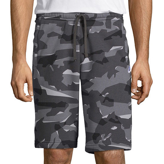 Nike Mens Camo Fleece Short