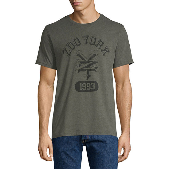 634803415e502 Zoo York Mens Crew Neck Short Sleeve T-Shirt - JCPenney
