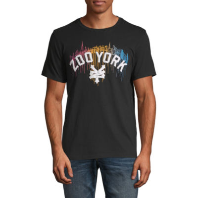 Zoo York Mens Crew Neck Short Sleeve T-Shirt