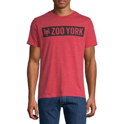Zoo York Mens Crew Neck Short Sleeve T-Shirt