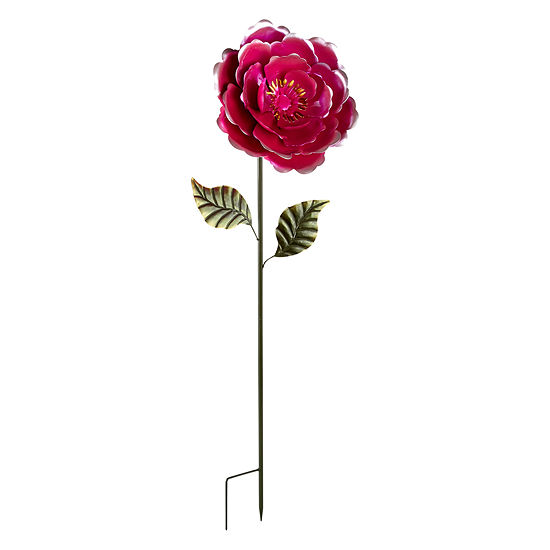 Outdoor Oasis Oversized Flower Yard Stake