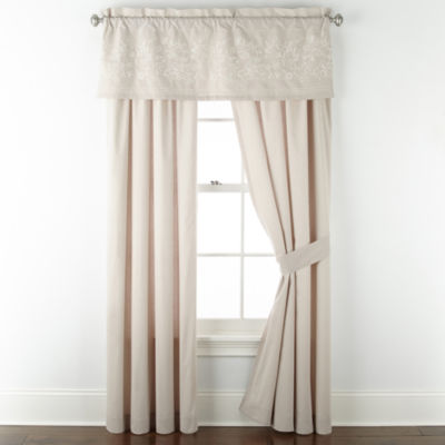 JCPenney Home Chatham Rod-Pocket Curtain Panel