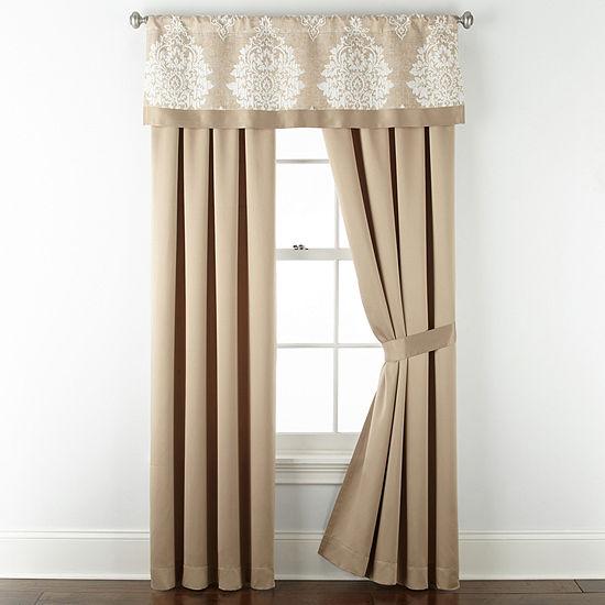 Liz Claiborne Aspen Rod-Pocket Curtain Panel