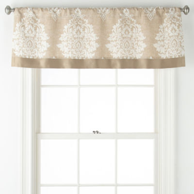Liz Claiborne Aspen Rod-Pocket Tailored Valance
