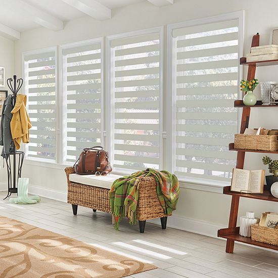 Bali Martingale Layered Custom Light-Filtering Sheer Shades