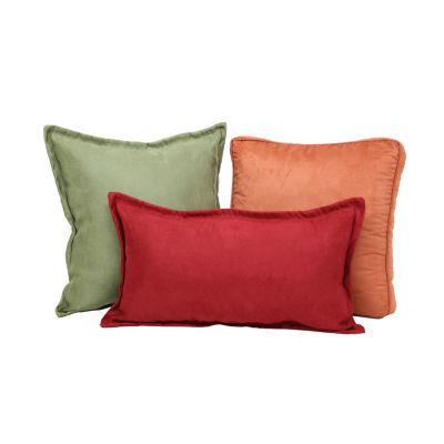 Brentwood Originals Nouveau Suede Decorative Pillows