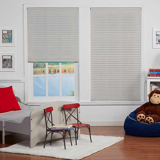 """Cut-to-Width 1"""" Cordless Pleated Shade"""