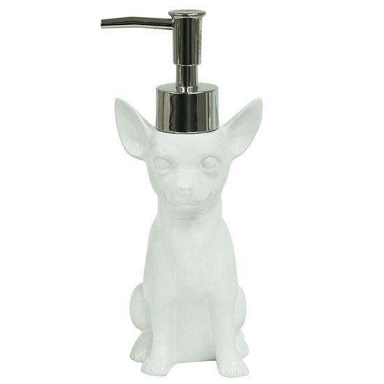Bacova Guild Dogs Chihuahua Soap Dispenser