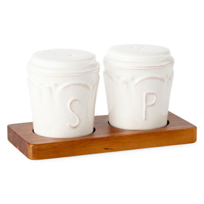 JCPenney Home Ambrose Salt + Pepper Shakers