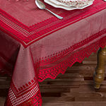 Design Imports Nordic Lace Tablecloth Tablecloth