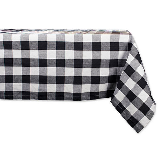 Design Imports Buffalo Check Tablecloth