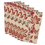 Design Imports Rustic Leaves 6-pc. Napkins