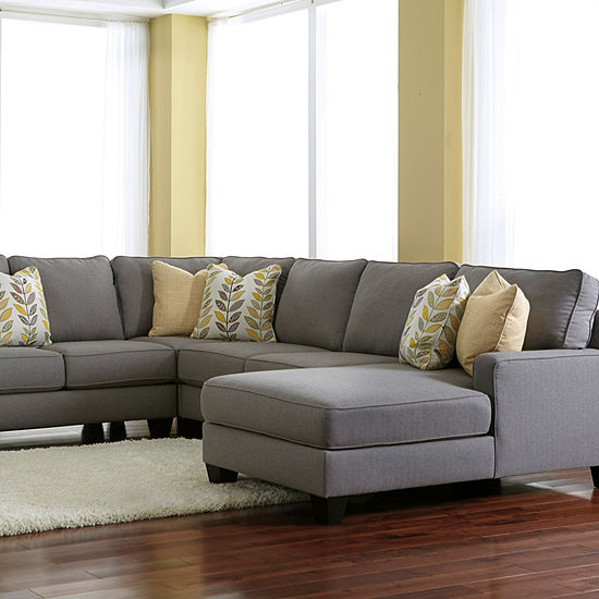 Signature Design by Ashley® Chamberly 4-Pc Chaise Sectional