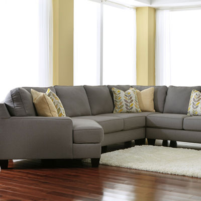 Signature Design by Ashley® Chamberly 4-Pc Cuddler Sectional