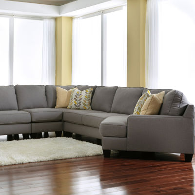 Signature Design by Ashley® 5-Pc Chamberly Sectional with Cuddler