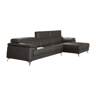 Signature Design by Ashley® Tindell 2-Pc Sectional With Left Arm Facing Loveseat