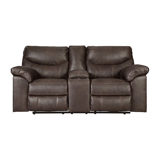 Signature Design by Ashley® Boxberg Pad-Arm Reclining Loveseat