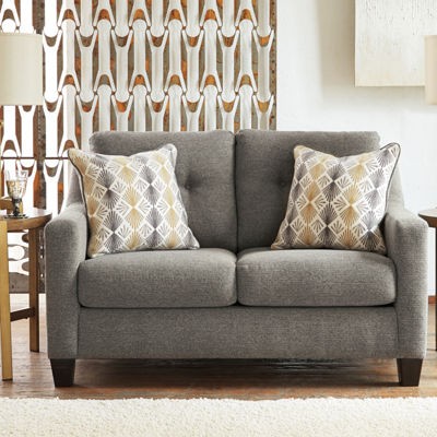 Signature Design by Ashley Daylon Track-Arm Loveseat