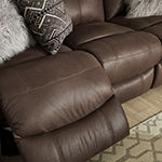 Signature Design by Ashley® Jesolo Reclining Faux Leather Loveseat