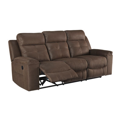 Signature Design by Ashley® Jesolo Faux Leather Reclining Sofa