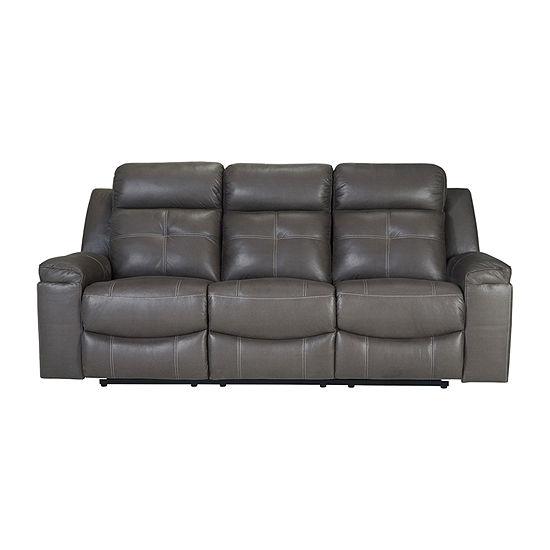 Signature Design by Ashley® Jesolo Faux Leather Reclining Sofa