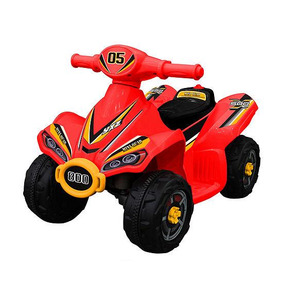 Blazin Wheels 6v Red Mini Quad Ride On
