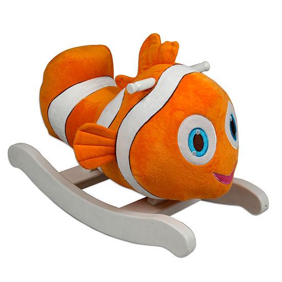 Rocking Clown Fish Ride-On Animals