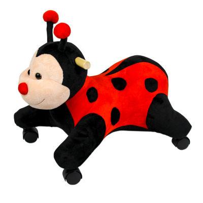 Ladybug With Wheels Ride-On Animals