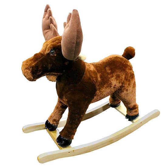 Rocking Moose Ride-On Animals